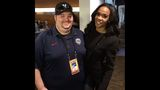 Celebrity selfies at Super Bowl 50