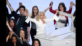 Photos: Lady Gaga's inspirational Oscars performance