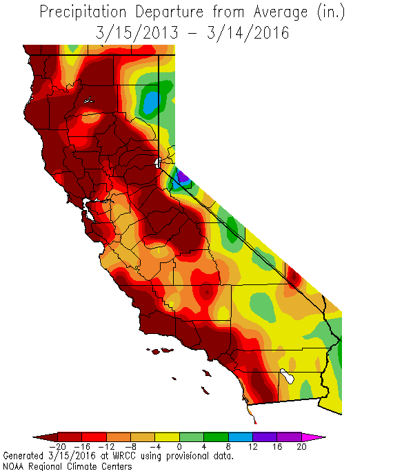 Recent storms put California drought emergency in question