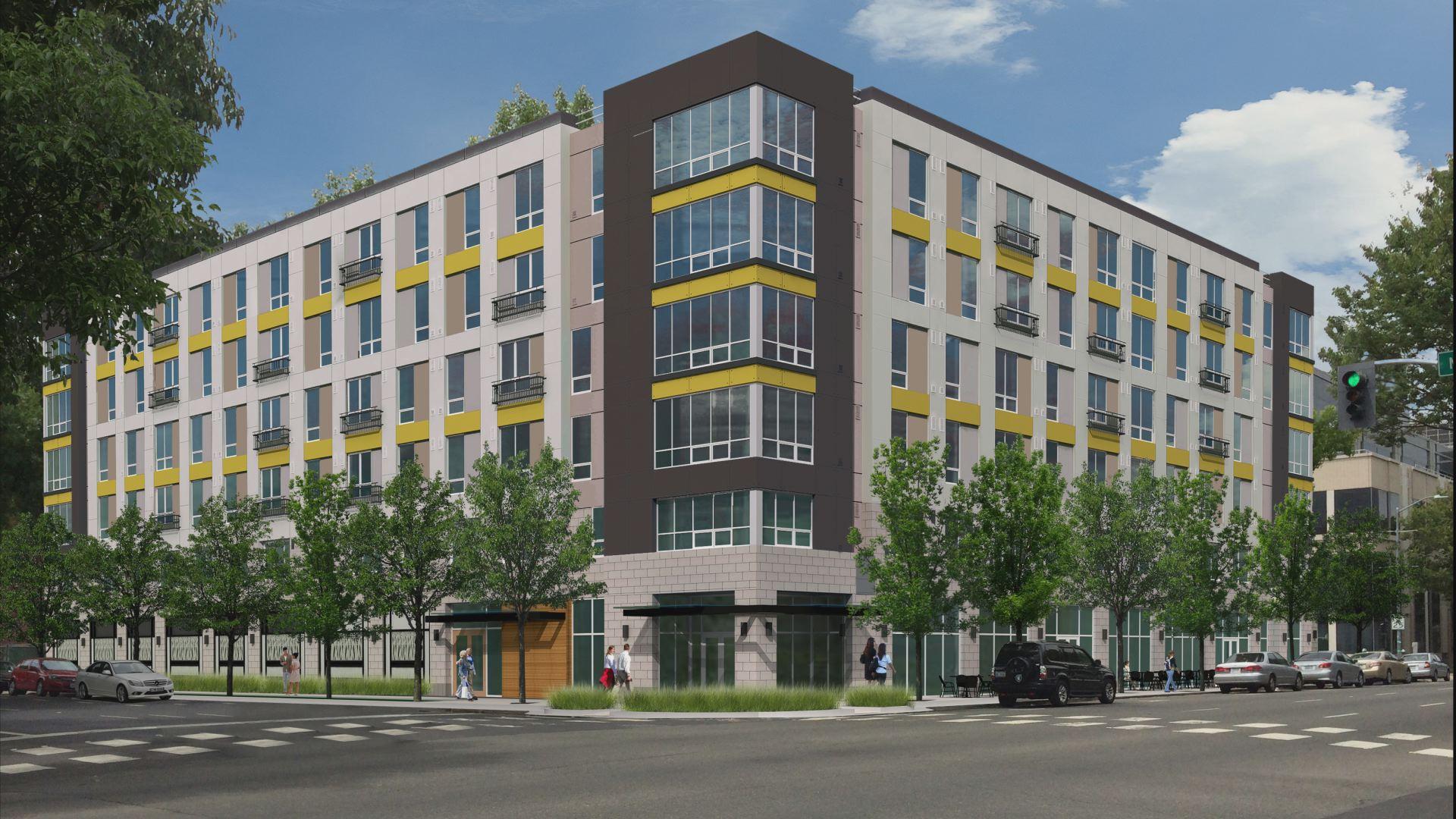 modular apartments stacking up in sacramento