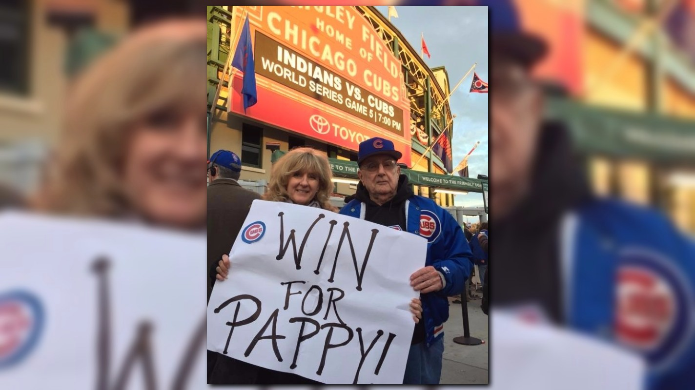 After going to World Series, 85-year-old Cubs fan ...
