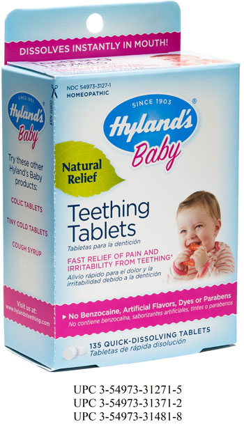 ksdk.com | Hyland's teething tablets recalled over levels ...