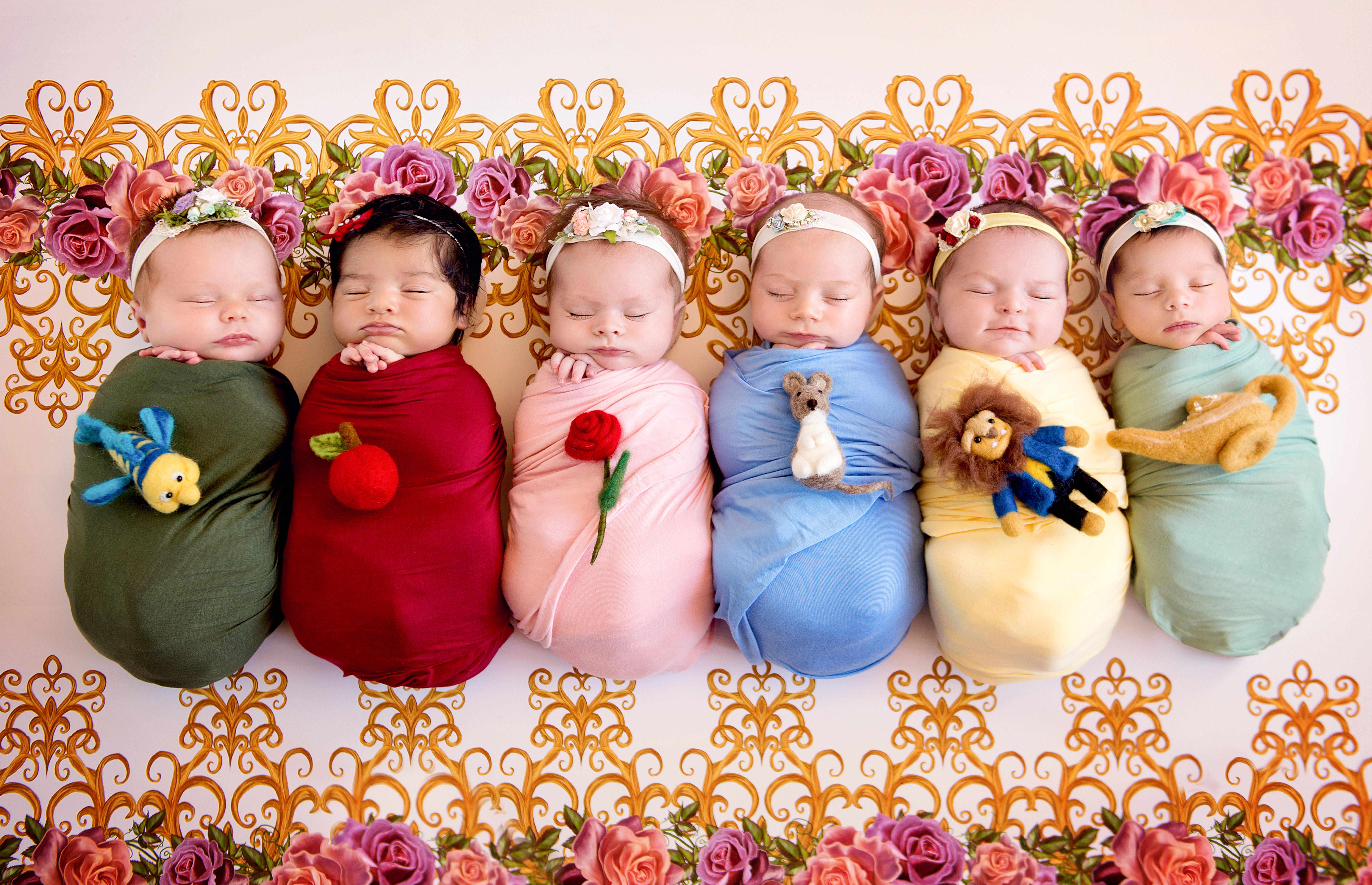 Photographer Turns Newborns Into Disney Princesses Wltx Com
