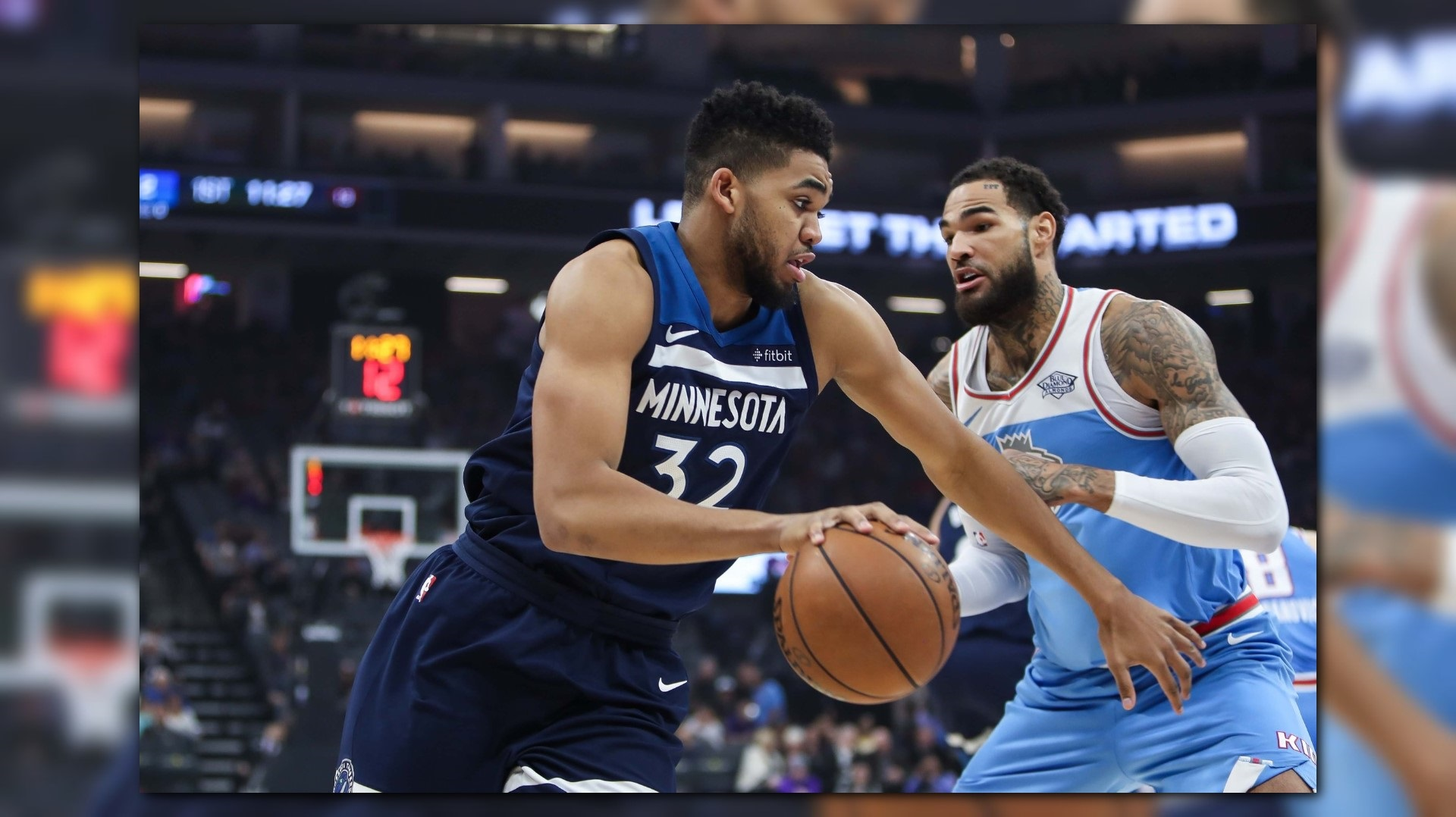 Towns helps wolves pull away to beat kings 118 100 for Anthony s italian cuisine sacramento